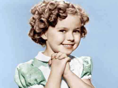 Shirley Temple childhood