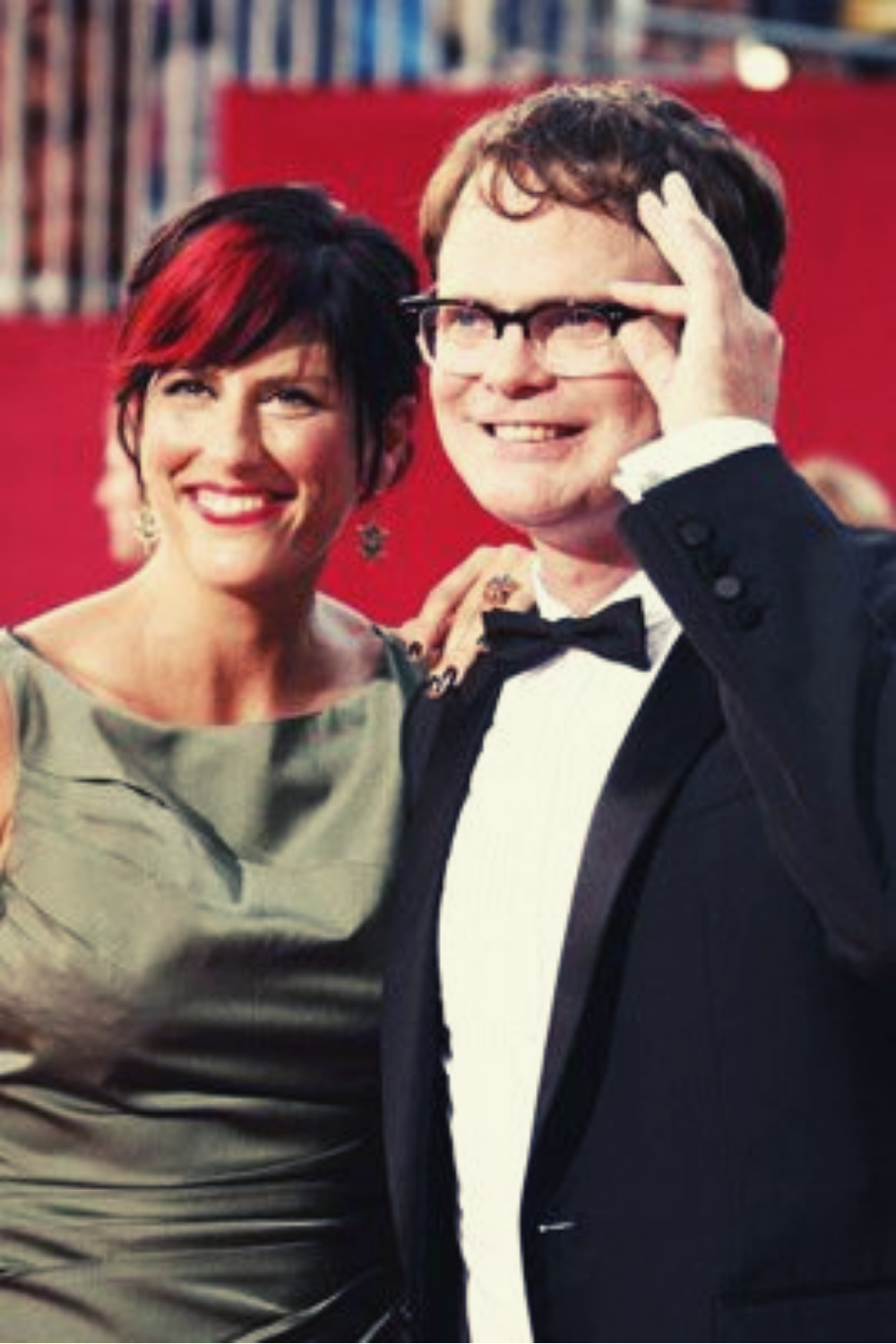 Holiday Reinhorn and Rainn Wilson