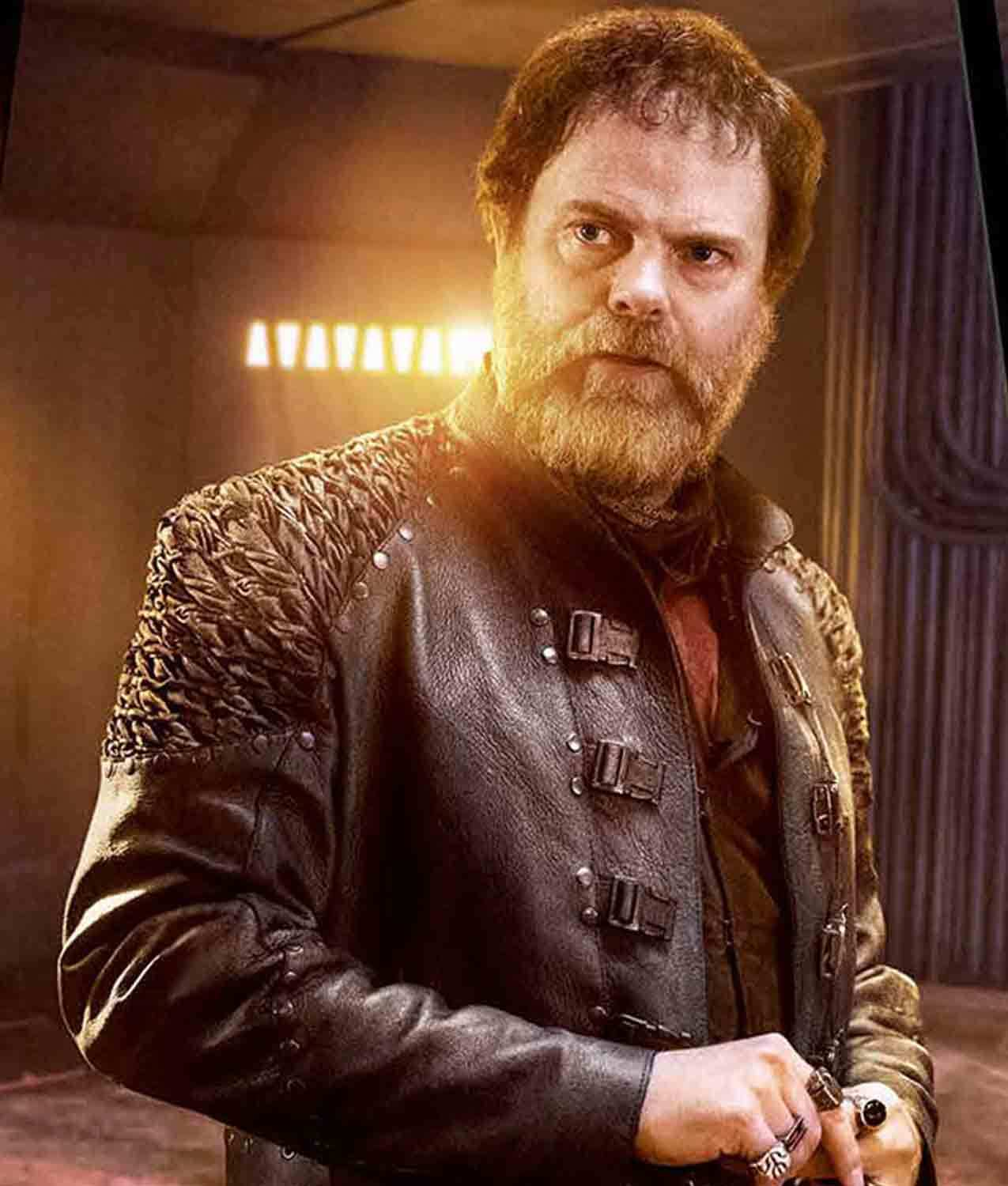 Harry Mudd in Star Trek played by Rainn Wilson